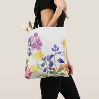 La bolsa de asas escocesa del Watercolour de las