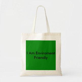 la bolsa de asas favorable al medio ambiente