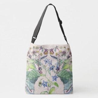 La bolsa de asas floral de Blackberry del