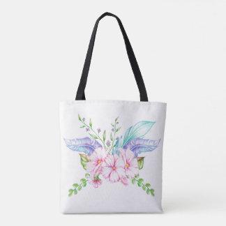 La bolsa de asas floral de Boho