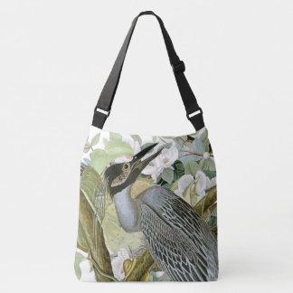 La bolsa de asas floral de la fauna de los pájaros