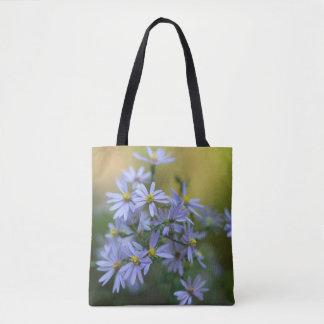 La bolsa de asas floral del Wildflower de los
