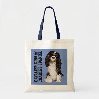 La bolsa de asas ilustrada arrogante del perro de