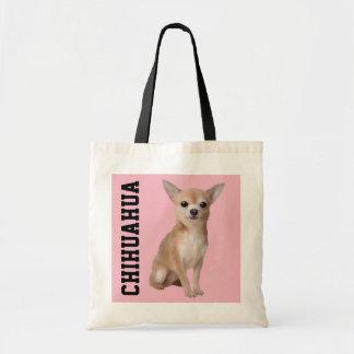La bolsa de asas ilustrada chihuahua