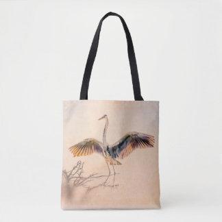 La bolsa de asas ingeniosa de la garza de gran