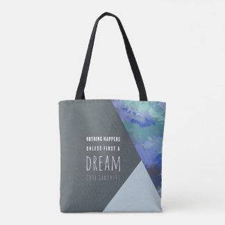 La bolsa de asas inspirada geométrica del sueño el