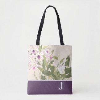 La bolsa de asas japonesa de la orquídea de la