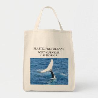 La bolsa de asas libre del bolso de la playa de
