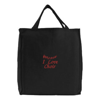 La bolsa de asas linda del coro del amor de I