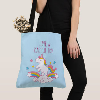 La bolsa de asas mágica del unicornio del arco