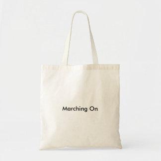 La bolsa de asas minimalista - marchando en serie