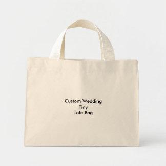 La bolsa de asas minúscula del boda de encargo