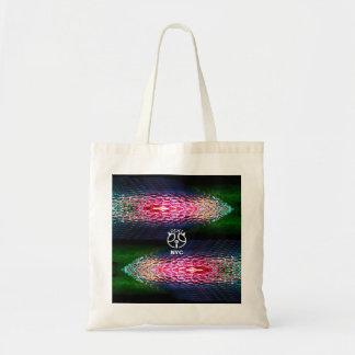 La bolsa de asas multicolora de cristal de Sheen