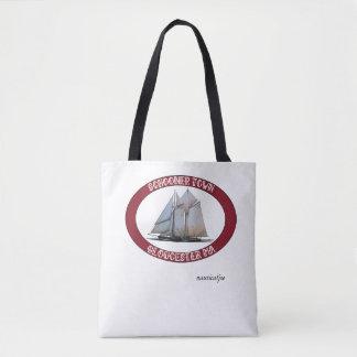 la bolsa de asas náutica del schooner