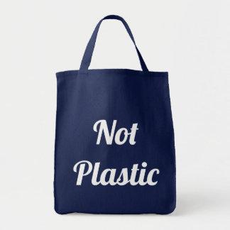 La bolsa de asas no plástica