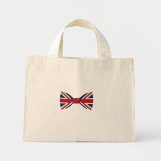 La bolsa de asas - pajarita de Union Jack