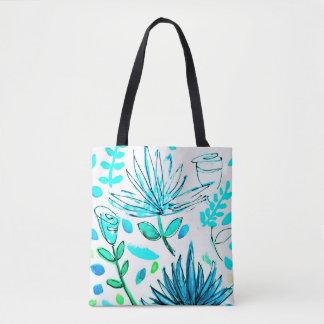 La bolsa de asas para hacer compras o los