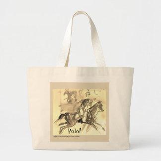 La bolsa de asas para los amantes del polo
