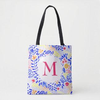 Bolso De Tela La bolsa de asas personalizada colorida del