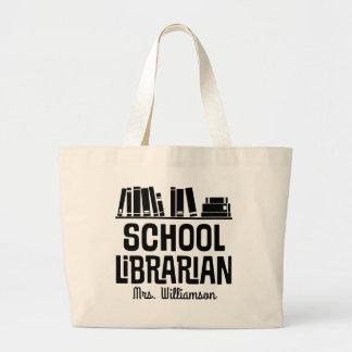La bolsa de asas personalizada del libro del