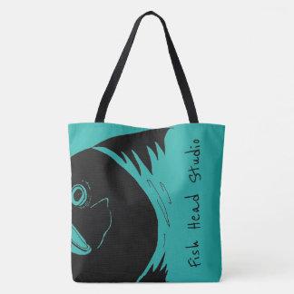 La bolsa de asas principal de color salmón