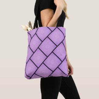 La bolsa de asas púrpura de la estrella