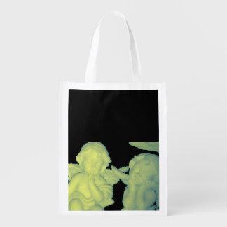 la bolsa de asas reutilizable de los ángeles de 8