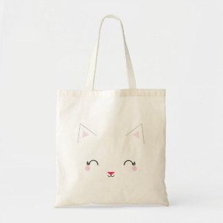 la bolsa de asas reutilizable del CAT del GATITO