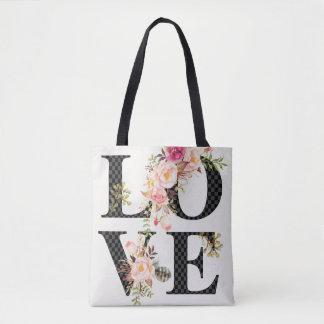 La bolsa de asas romántica del amor