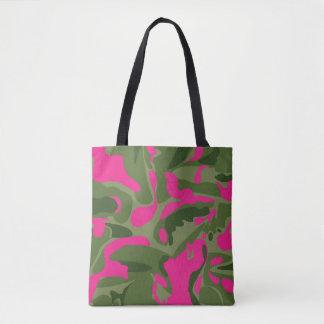 La bolsa de asas rosada de Camo