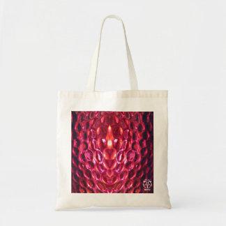 La bolsa de asas rosada de Sheen de la piel de ser