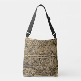 La bolsa de asas tribal africana de la impresión