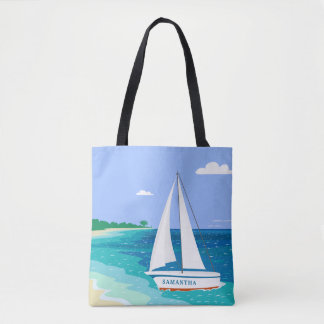 La bolsa de asas tropical costera de la playa del