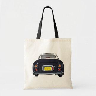 La bolsa de asas útil del coche negro de Nissan