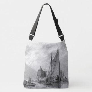 La bolsa de asas vieja de Inglaterra de los barcos