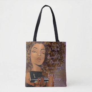 La bolsa de asas virtuosa de la mujer