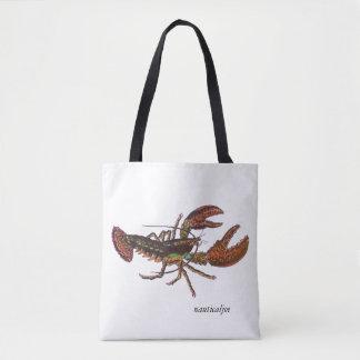 la bolsa de asas viva de la langosta