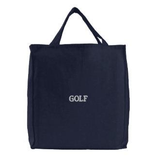 La bolsa de golf de las señoras bordada