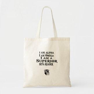 La bolsa de libros BETA superior del lector