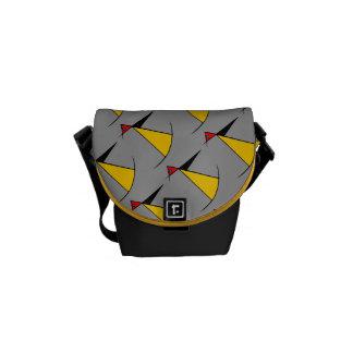 La bolsa de mensajero cero de Sr. Penguin Rickshaw Bolsas De Mensajeria
