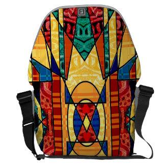 La bolsa de mensajero de encargo contemporánea bolsa de mensajería