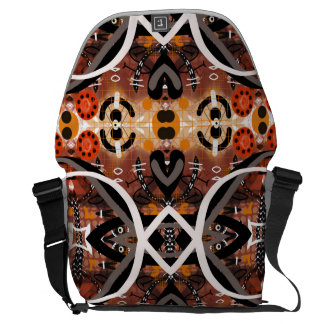 La bolsa de mensajero de encargo contemporánea bolsa de mensajeria