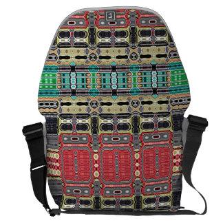 La bolsa de mensajero de encargo contemporánea bolsa messenger