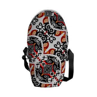 La bolsa de mensajero de encargo contemporánea bolsas messenger