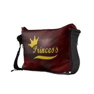 La bolsa de mensajero de princesa Rickshaw Bolsa De Mensajería