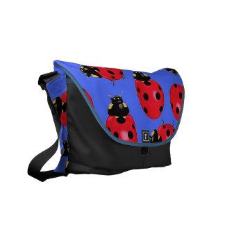 La bolsa de mensajero de señora Bugs Rickshaw Bolsa De Mensajeria
