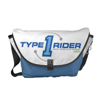 La bolsa de mensajero de Type1Rider Bolsa De Mensajeria