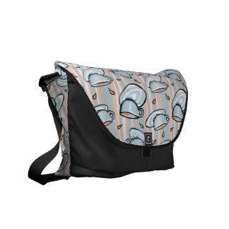 La bolsa de mensajero del azul del relevo de las bolsa messenger