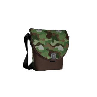 La bolsa de mensajero del carrito - camuflaje bolsa messenger