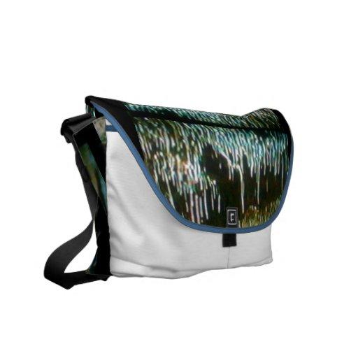La bolsa de mensajero del carrito de las estalacti bolsa de mensajeria